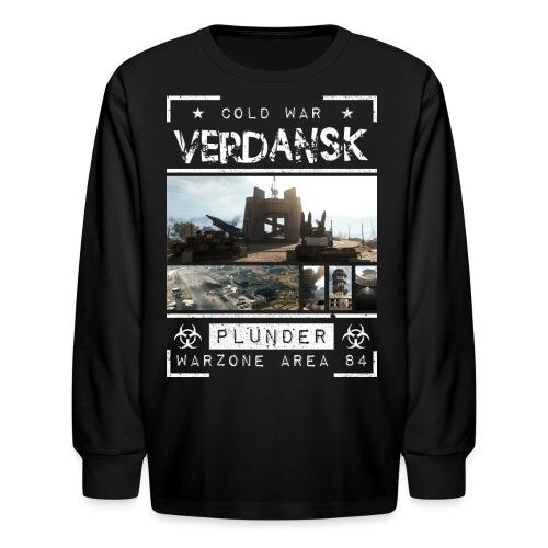 Verdansk Plunder - Kids' Long Sleeve T-Shirt