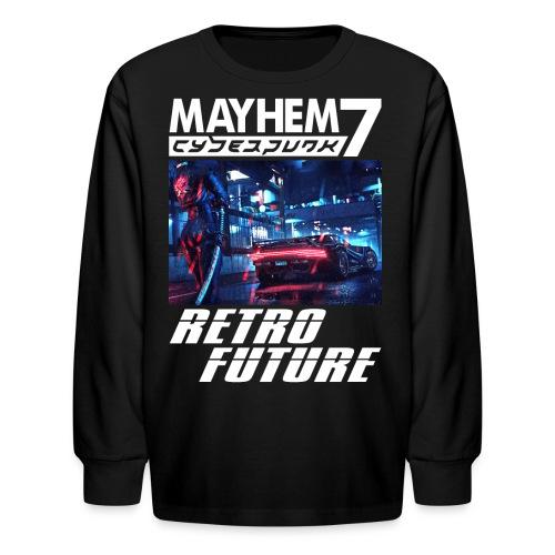 M7 Cyberpunk - Kids' Long Sleeve T-Shirt
