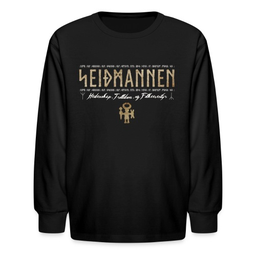 SEIÐMANNEN - Heathenry, Magic & Folktales - Kids' Long Sleeve T-Shirt