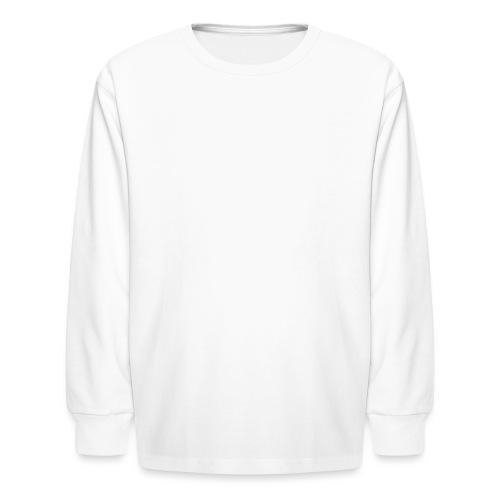 10x10 TrailsX Logo-White - Kids' Long Sleeve T-Shirt