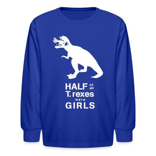 Tyrannosaurus Rex - Kids' Long Sleeve T-Shirt