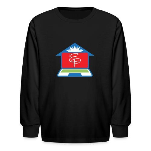EP Logo Only - Kids' Long Sleeve T-Shirt