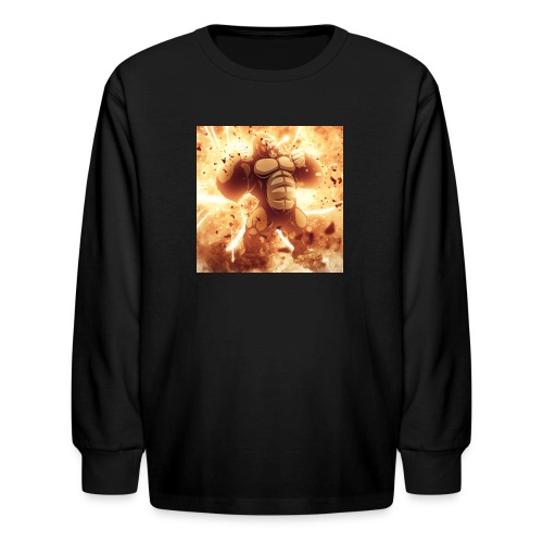 Angry Gorilla Explosion - Kids' Long Sleeve T-Shirt