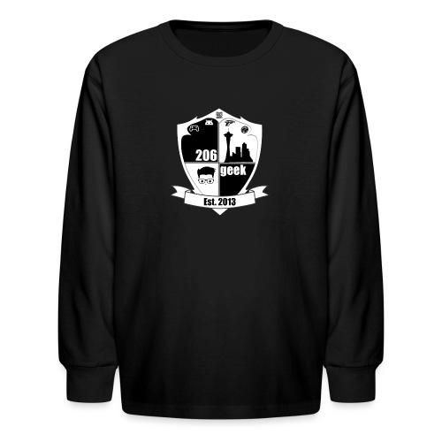 206geek podcast - Kids' Long Sleeve T-Shirt