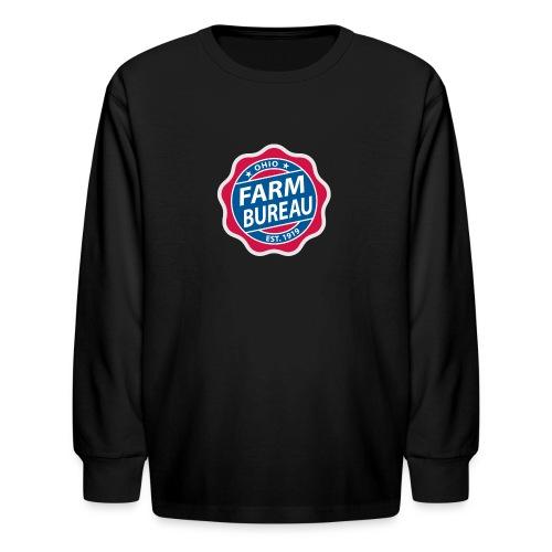 Color Logo - Kids' Long Sleeve T-Shirt