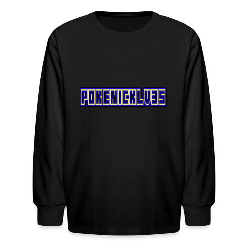 PokeNickLV35 - Kids' Long Sleeve T-Shirt