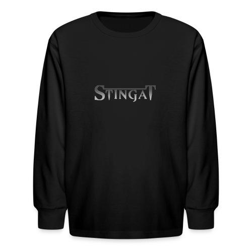 Stinga T LOGO - Kids' Long Sleeve T-Shirt