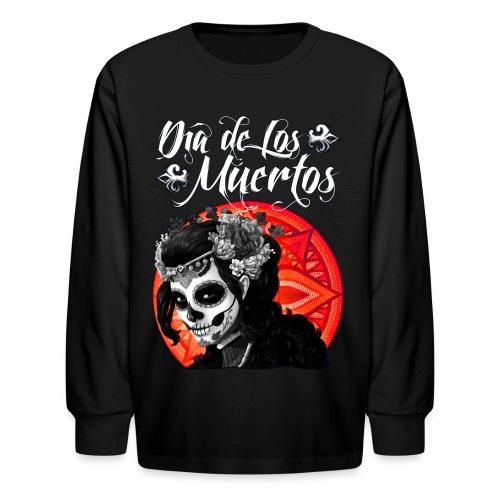 Dia de Los Muertos 01 - Kids' Long Sleeve T-Shirt