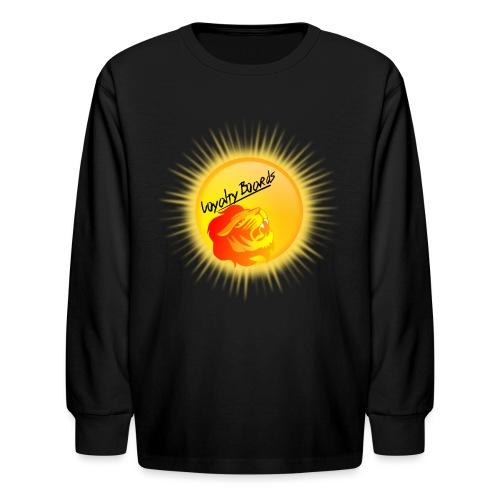 LoyaltyBoardsNewLogo 10000 - Kids' Long Sleeve T-Shirt