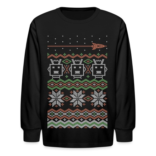 rf xmas sweatshirt midp - Kids' Long Sleeve T-Shirt