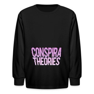 Women's - ConspiraTheories Official T-Shirt - Kids' Long Sleeve T-Shirt