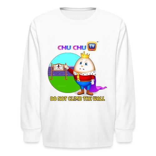 Motivational Slogan 7 - Kids' Long Sleeve T-Shirt
