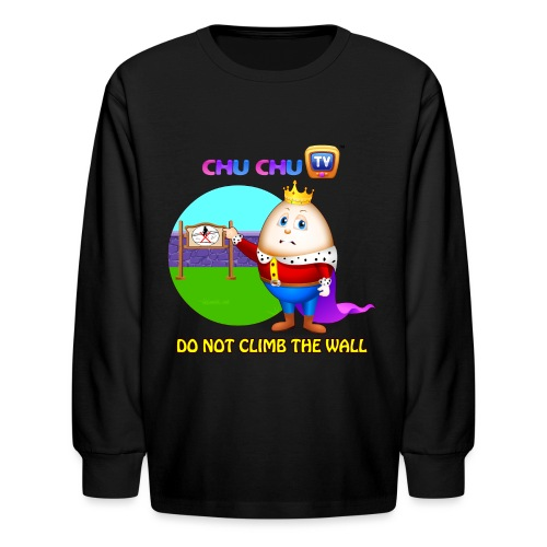 Motivational Slogan 7 - Kids' Long Sleeve T-Shirt