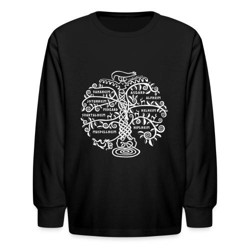 Yggdrasil - The World Tree - Kids' Long Sleeve T-Shirt