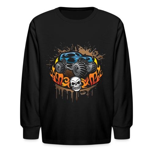 Monster Truck Shirt - Kids' Long Sleeve T-Shirt