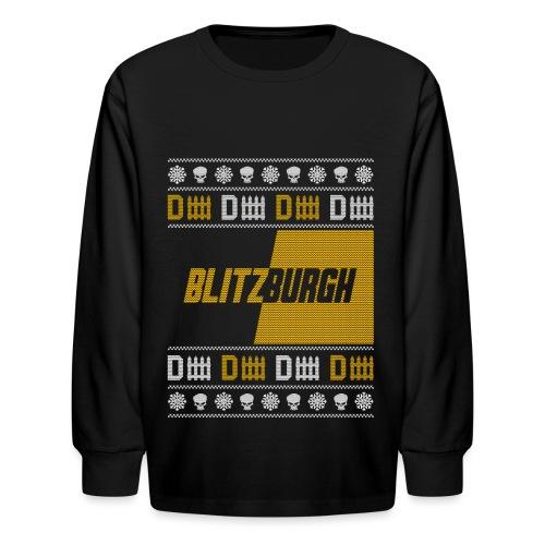 Blitzburgh - Kids' Long Sleeve T-Shirt