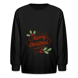 Merry Christmas - Kids' Long Sleeve T-Shirt