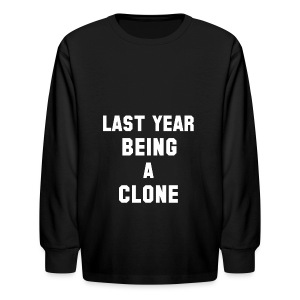 C-LONE THUG - Kids' Long Sleeve T-Shirt