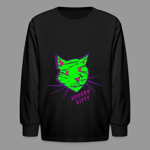 Voodoo Kitty - Kids' Long Sleeve T-Shirt