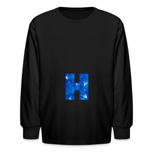 XxHaunter Logo - Kids' Long Sleeve T-Shirt