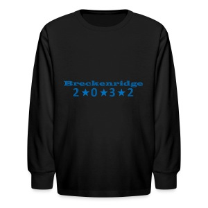 Red 2032 - Kids' Long Sleeve T-Shirt