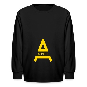 Limited Edition Gold Aspect Logo Sweatshirt - Kids' Long Sleeve T-Shirt