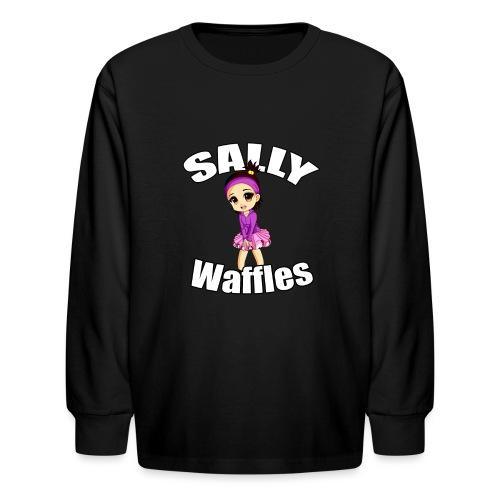 Sally Waffles - Kids' Long Sleeve T-Shirt