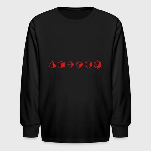 Dice Evolution d20 Dungeons & Dragons - Kids' Long Sleeve T-Shirt