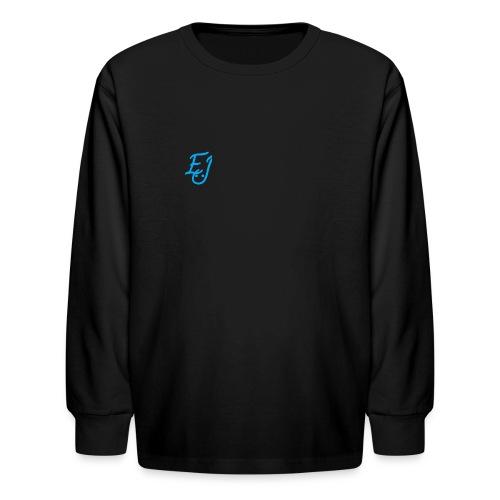 youth EJ logo long sleeve shirt - Kids' Long Sleeve T-Shirt