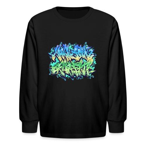 Themeaseven - NYG Design - Kids' Long Sleeve T-Shirt
