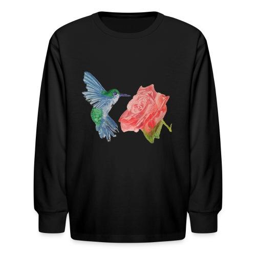 Hummingbird - Kids' Long Sleeve T-Shirt