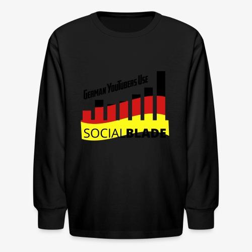 German YouTubers - Kids' Long Sleeve T-Shirt