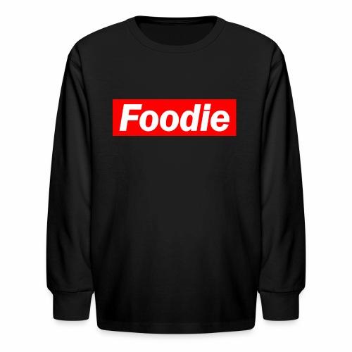 Foodie - Kids' Long Sleeve T-Shirt