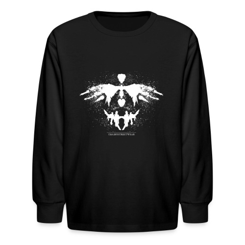 Rorschach_white - Kids' Long Sleeve T-Shirt