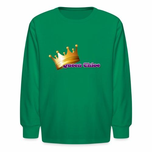 Queen Chloe - Kids' Long Sleeve T-Shirt