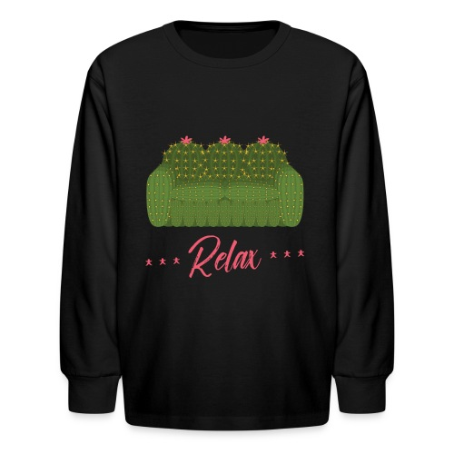 Relax! - Kids' Long Sleeve T-Shirt