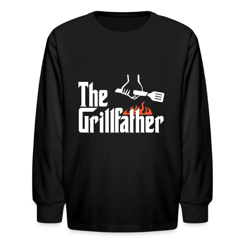 The Grillfather - Kids' Long Sleeve T-Shirt