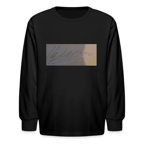 signature - Kids' Long Sleeve T-Shirt