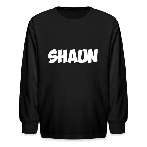 Shaun Logo Shirt - Kids' Long Sleeve T-Shirt