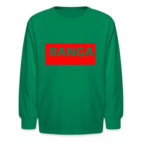 Ranga Red BAr - Kids' Long Sleeve T-Shirt