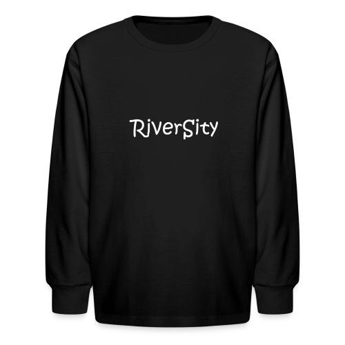 RiverSity - Kids' Long Sleeve T-Shirt