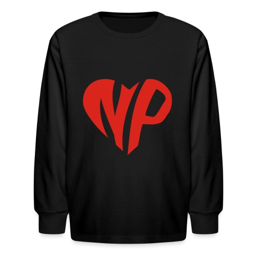 np heart - Kids' Long Sleeve T-Shirt