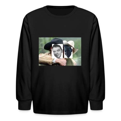 Darien and Curtis Camping Buddies - Kids' Long Sleeve T-Shirt