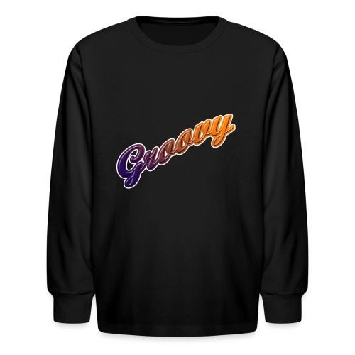 Groovy - Kids' Long Sleeve T-Shirt