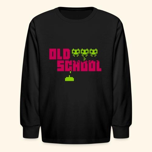 Old School - Kids' Long Sleeve T-Shirt
