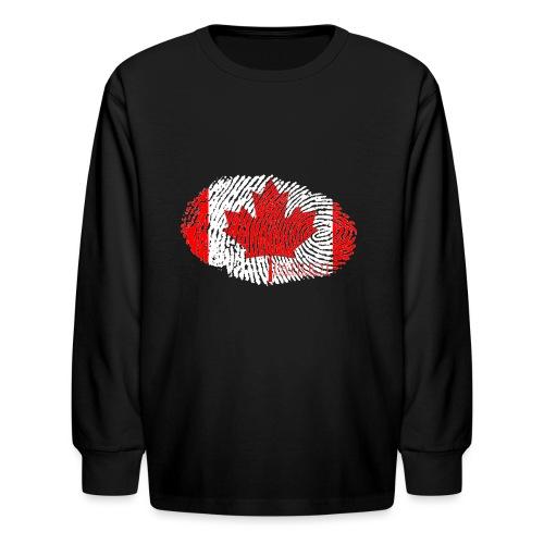 Canadian Identity - Kids' Long Sleeve T-Shirt
