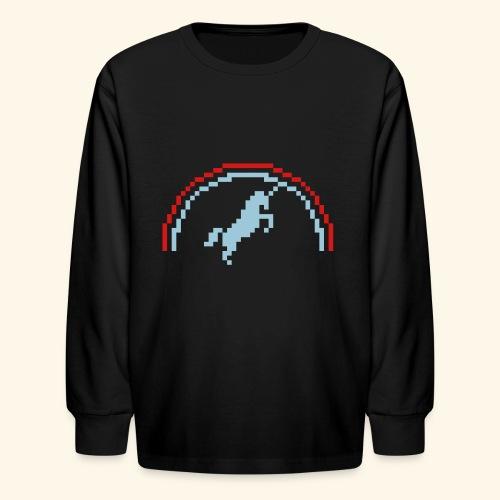 Pixelunicorn - Kids' Long Sleeve T-Shirt