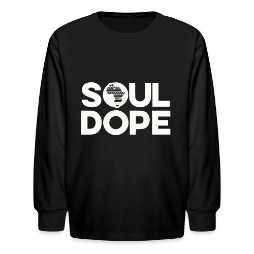 souldope white tee - Kids' Long Sleeve T-Shirt