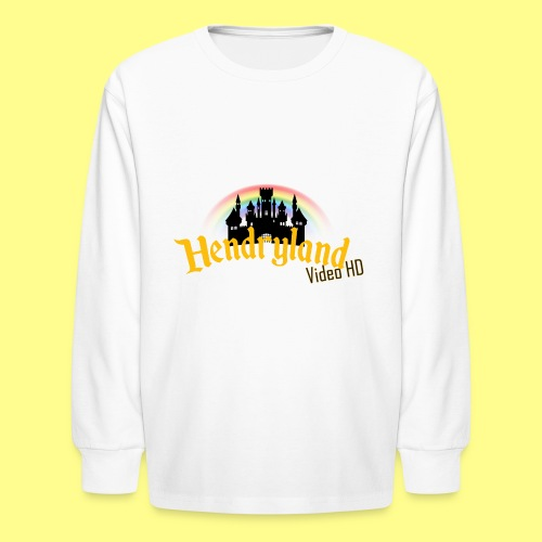 HENDRYLAND logo Merch - Kids' Long Sleeve T-Shirt