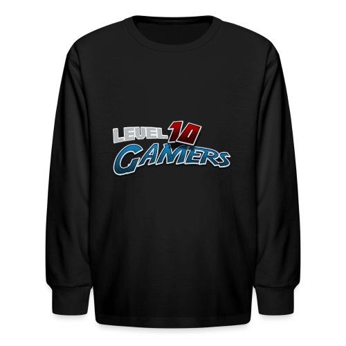 Level10Gamers Logo - Kids' Long Sleeve T-Shirt
